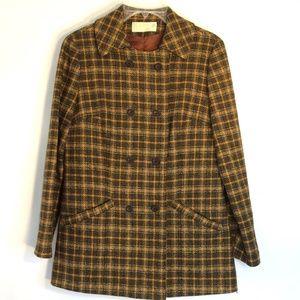 PENDLETON | Vintage Plaid Wool Fitted Coat…